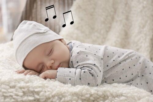 Die besten Schlaflieder - schlafendes Baby