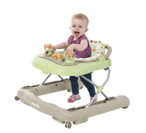 Die Lauflernhilfe beeinträchtigt die kognitive Entwicklung des Kindes.