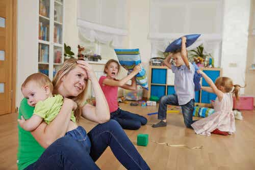 Zeitmanagement, um ein unordentliches Haus zu vermeiden