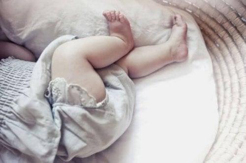 Vergesslichkeit während des Stillens - Baby