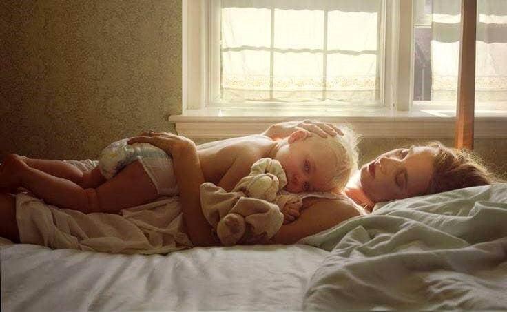 Diese wunderbaren Momente allein mit dir