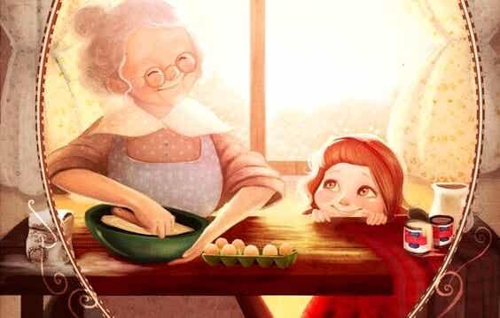 Die modernen Großmütter 2.0 - Großmutter, erzähl mir nochmal, was du gefühlt hast, als du mich zum ersten Mal sahst