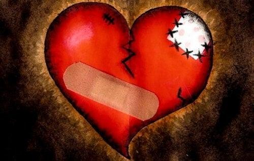 Emotionale Wunden - Zerbrochenes Herz