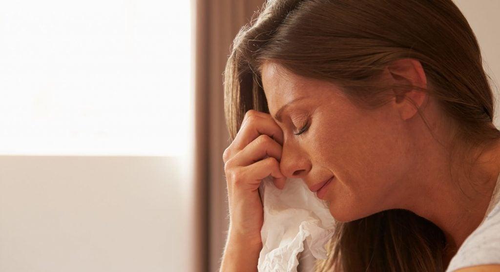 Mütter weinen auch: aus Angst, Stress oder Müdigkeit