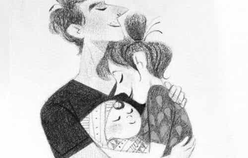 Wir sind nicht nur Eltern sondern auch ein Paar