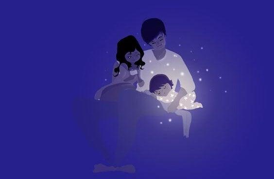 Die Elternschaft lässt uns auch als Paar stärker zusammenwachsen.