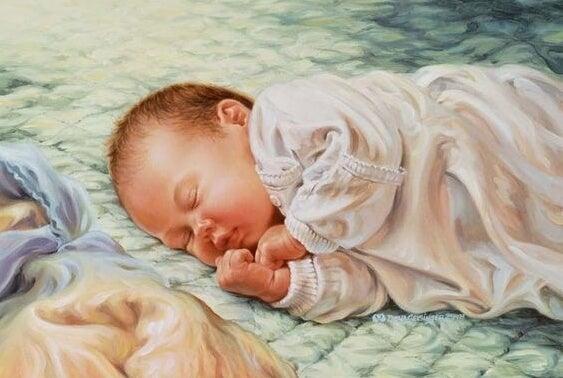 Nach der Geburt sind viele Eltern besorgt, aber das Baby braucht nur eure Nähe um sich zu beruhigen - die ersten 40 Tage
