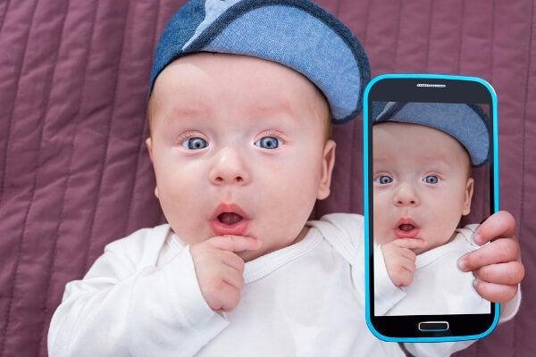 Kinderfotos auf Social Media? Vorsicht!