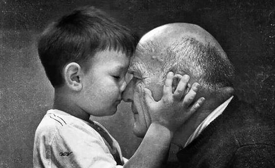 Großeltern sterben nie - sie sind für immer präsent!