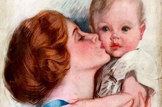 Mamas Küsse machen alles besser