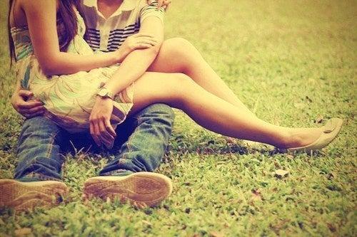 Ein Paar das sich liebt