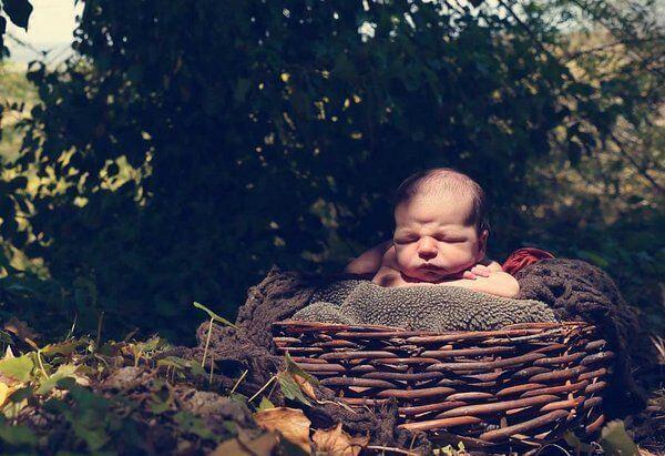 Babynamen - Baby-korb