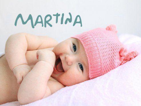 Babynamen - Baby-martina