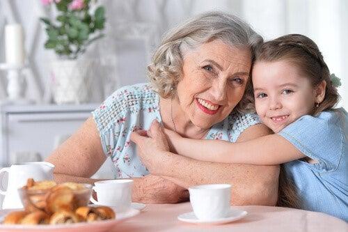Die Bedeutung der Großmutter väterlicherseits für die Familie