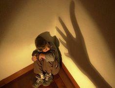 Kindesmissbrauch - Kind-versteckt-sich