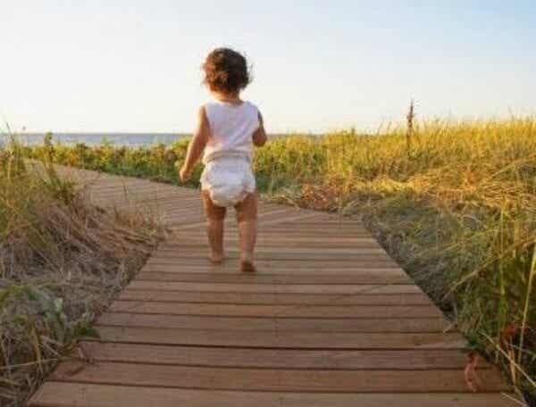 3 Laufübungen für Babys