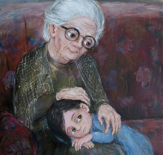 Meine Großmutter ist der schönste Stern am Himmel