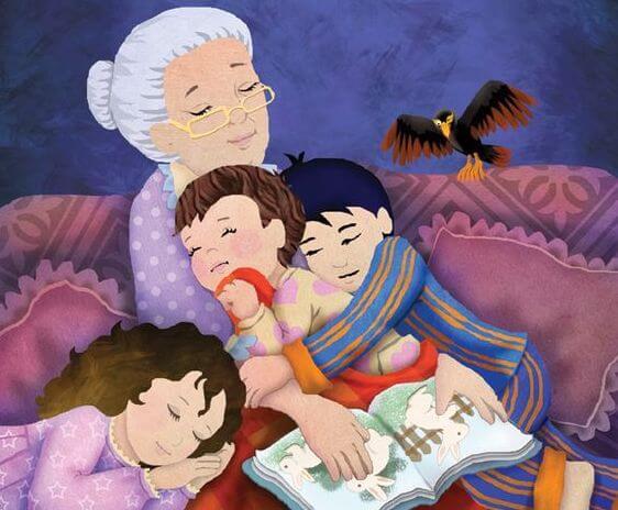 Meine Großmutter kannte die schönsten Geschichten und Lieder.