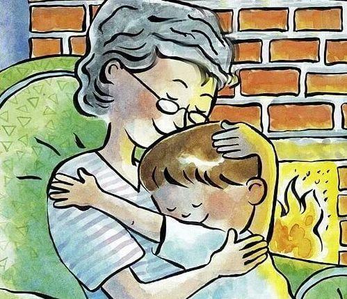 Meine Großmutter gab mir die besten Umarmungen meiner Kindheit.