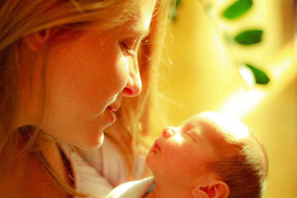 Genieße die Zeit mit deinem Baby, denn sie vergeht so schnell