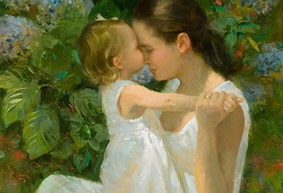 Du kannst deinen Töchtern viel über das Leben beibringen. Sie werden deinem Beispiel folgen.