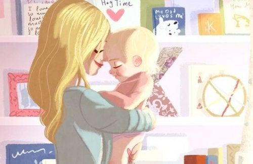 Warum wollen Babys immer gehalten werden?