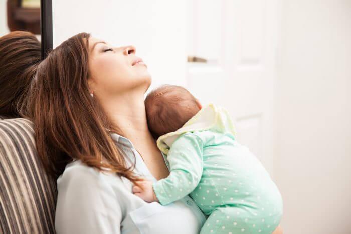 Müdigkeit bei Müttern und Vätern
