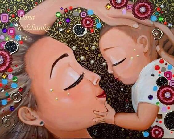 Der beste Job, den ich mir wünschen kann: Deine Mutter zu sein
