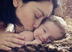 Mutter sein mit Baby