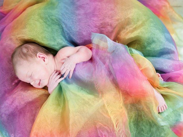 Sternschnuppen-und Regenbogen-Babys: andere Arten von Mutterschaft