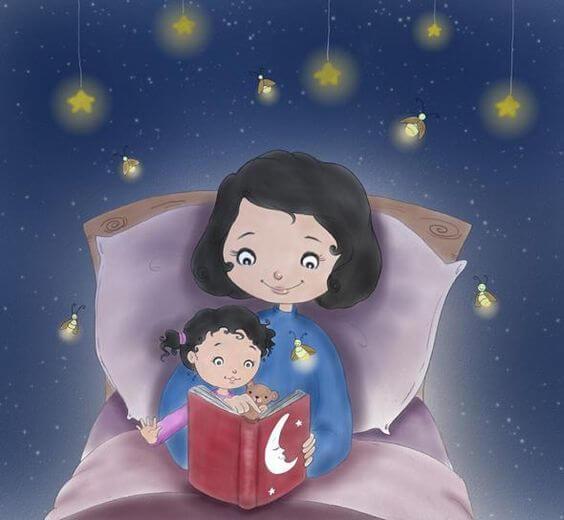 Mutter zu sein - schlafenszeit