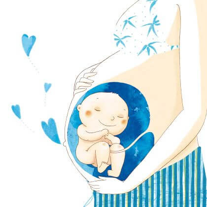 Wie man eine Mutterschaft vorbereitet