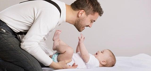 Die Rolle des Vaters ist dem Kind ein Vorbild