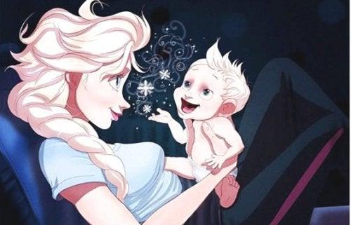Wenn dein Baby anfängt zu sprechen und nur du es verstehen kannst