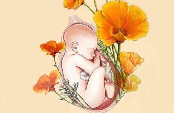 Du bist das Zuhause deines Babys und seine Zuflucht