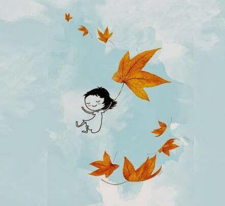 Blätter - Kinder lernen