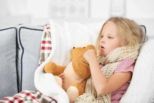 Pfeifferisches Drüsenfieber bei Kindern