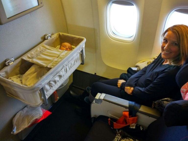 Reisen mit einem Baby