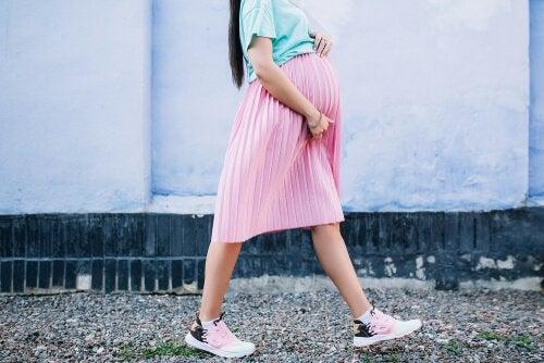 Spazierengehen in der Schwangerschaft