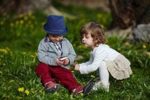 Neid bei Kindern Handy