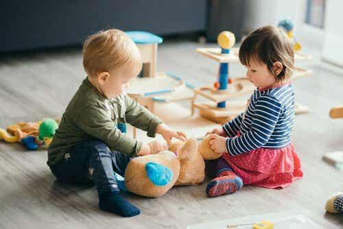 Ansteckende Krankheiten in Kindertagesstätten