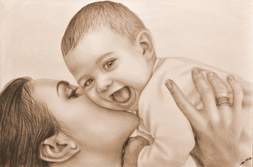 Die Liebe zu deinem Kind lässt dich dein Herz entdecken!
