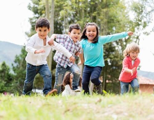 Motorische Entwicklung bei Kindern