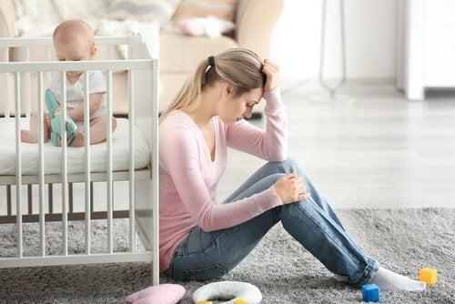 eine postnatale Depression überwinden