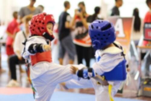 Taekwondo für Kinder