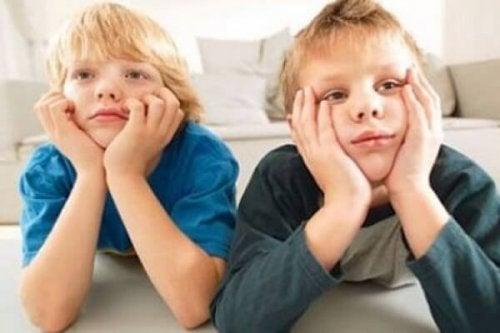 Faulheit bei Kindern