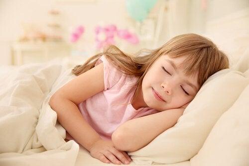 Nickerchen bei Kindern