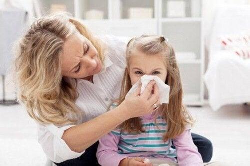 Nasenbluten bei Kindern