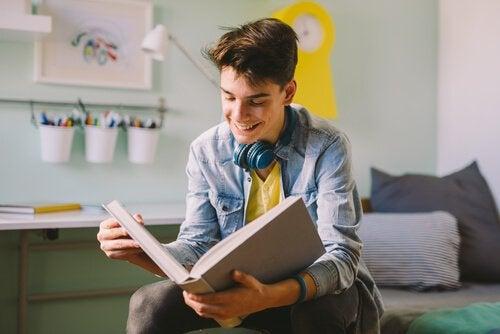 Bücher für Jugendliche gehören zur Bildung