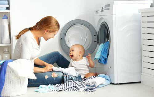 Babykleidung waschen - 7 Tipps dafür!